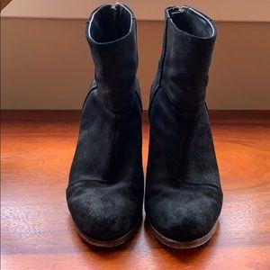 Rag & Bone    Black Suede Boots